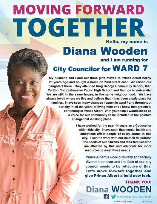 Diana Wooden Candidate Ward 7