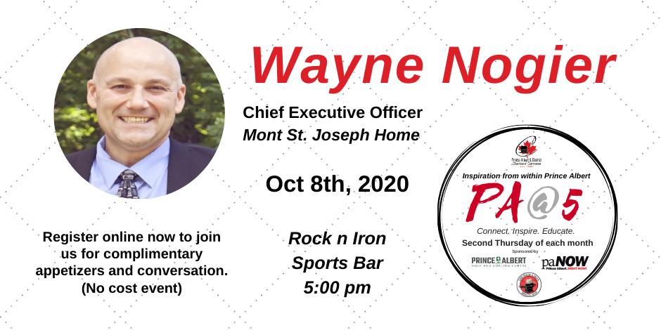 PA@5 Wayne Nogier CEO Mont St. Joseph