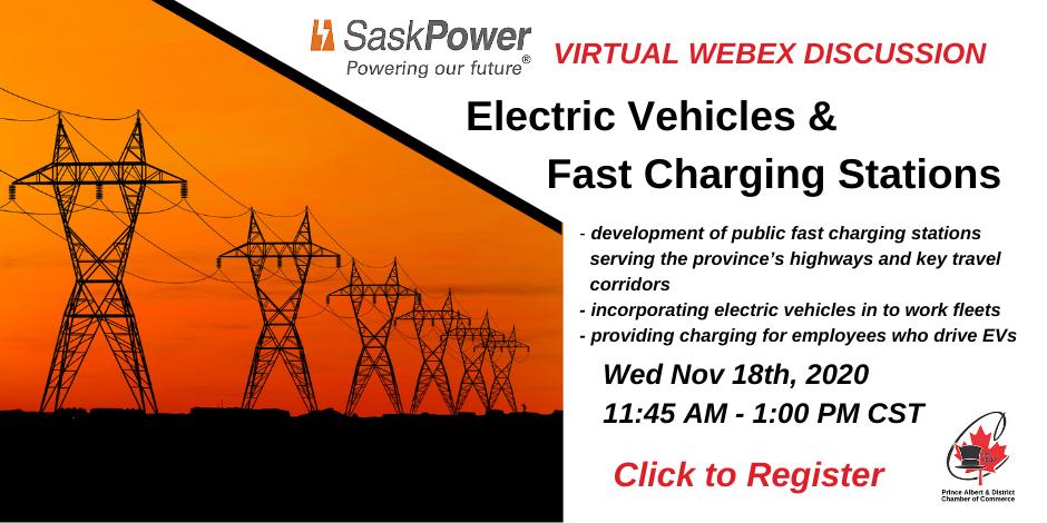 EV Charging Stations SaskPower