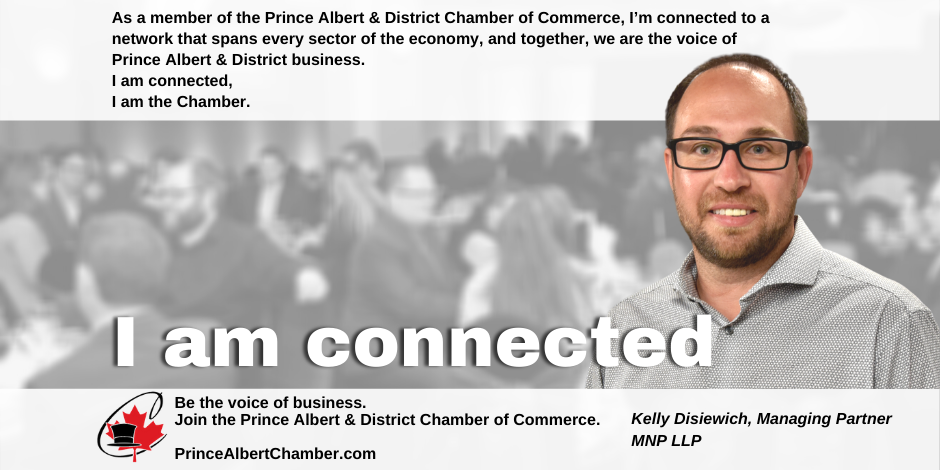 Kelly Disiewich 2nd Vice-Chair Prince Albert Chamber of Commerce