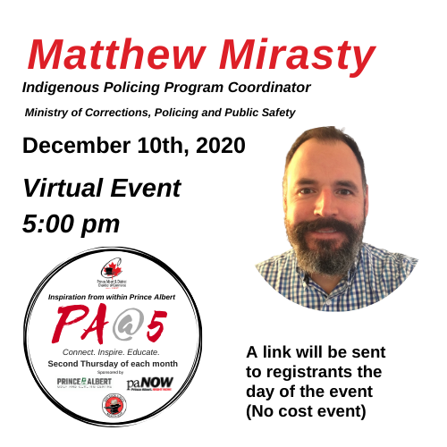 Matthew Mirasty Indigeneous Policing Program Coordinator