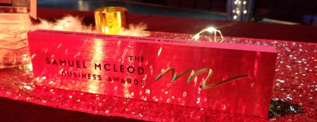 Samuel McLeod Business Award