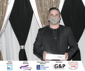Customer Service Award - G & P Plumbing